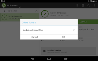 Screenshot of µTorrent® - Torrent Downloader