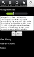 Screenshot of Wiki Encyclopedia Offline-Free