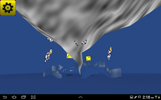 Screenshot of Crazy Virtual Dice 3D