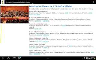 Screenshot of Guía MX