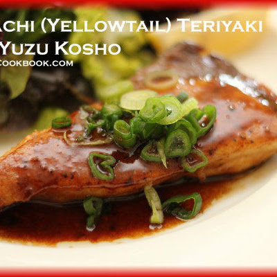 Hamachi (Yellowtail) Teriyaki with Yuzu Kosho