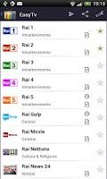 Screenshot of EasyTv