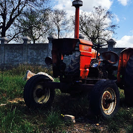 Life Escapes My Soul, Slowly! by Hassan Nasir - Novices Only Objects & Still Life ( pakistan, islamabad, death, decaying, tractor, abandoned )