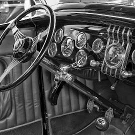 Custom Interior 2 by Jim Downey - Transportation Automobiles ( custom built, artistic design, hot rod, classic modern, guages )