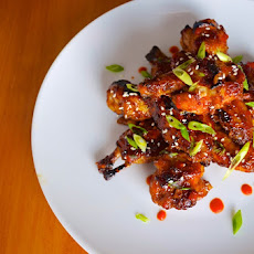Sweet & Sticky Hot Wings