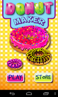 Screenshot of Donut Maker