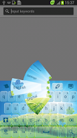 Screenshot of Spring Keyboard