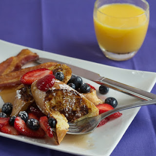 Gluten-Free Vanilla French Toast with Macerated Berries