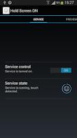 Screenshot of Hold Screen On Demo