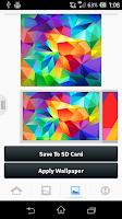 Screenshot of Galaxy S5 Theme