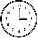 Speaking Clock icon
