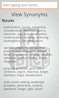 Screenshot of ABC Thesaurus Free