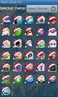 Screenshot of Kawaii Christmas Go Launcher