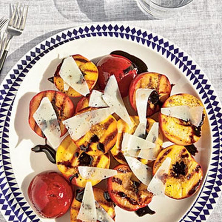 Grilled Stone Fruit with Balsamic Glaze Recipe | Yummly