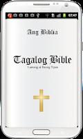 Screenshot of Tagalog Bible ( Ang Biblia )