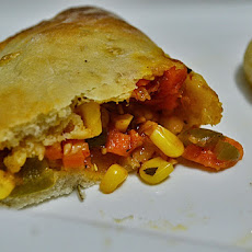 Calzone pocket (Pizza pocket)