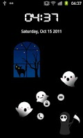 Screenshot of Halloween ghost - MagicLocker