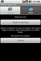 Screenshot of Phone finder lite