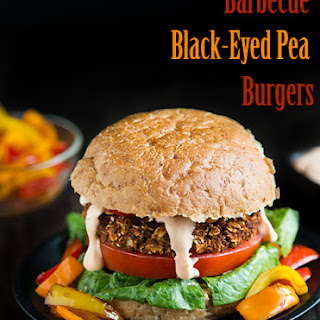 Barbecue Black-Eyed Pea Burgers