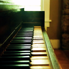 Antique Piano by Paul Hopkins - Artistic Objects Musical Instruments (  )