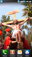 Screenshot of Jesus Crucified Wallpaper 2