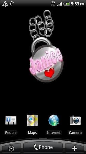 【免費個人化App】Janice Live Wallpaper-APP點子
