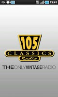 Screenshot of Radio 105 Classics