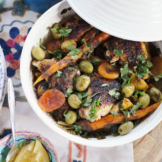Moroccan Chicken & Spring Vegetable Tagine