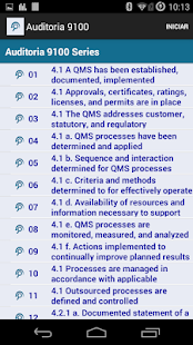 ISO 9100 Audit - screenshot