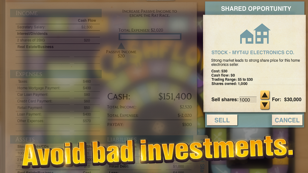 CASHFLOW - The Investing Game 0.1.62