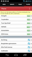 Screenshot of Gothia Innebandy Cup