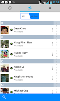 Screenshot of FCall: Facebook chat, call