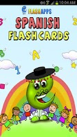 Screenshot of Spanish Baby Flashcards