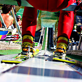 Norge Ski Jumping by Jon Radtke - Sports & Fitness Other Sports ( norge ski jumping )