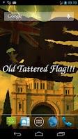 Screenshot of 3D Australia Flag LWP