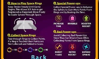 Screenshot of Space Rings 3D