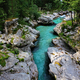 Soča - Slovenia by Jerko Čačić - Landscapes Waterscapes