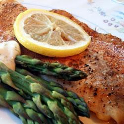 Tilapia with a Creamy Dill Sauce