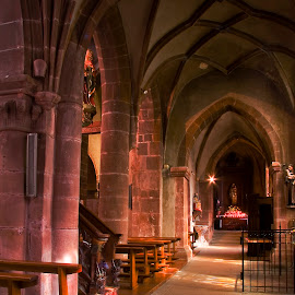 Arches of church in Kayser by Gale Perry - Buildings & Architecture Architectural Detail (  )