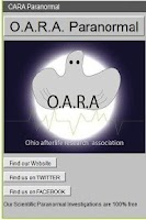 Screenshot of OARA Paranormal