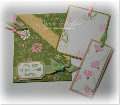 Petals & Paisley Double Pocket & Tags copy
