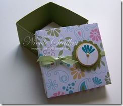 Petals & Paisley 3 x 3 Box open