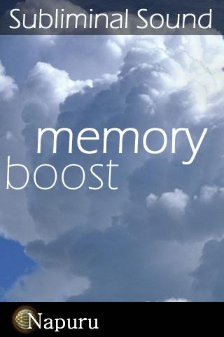 Memory Boost Brain Massage