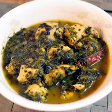 Indian Spiced Chicken and Spinach