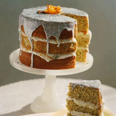 Citrus Poppyseed Cake