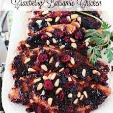 Cranberry Balsamic Chicken