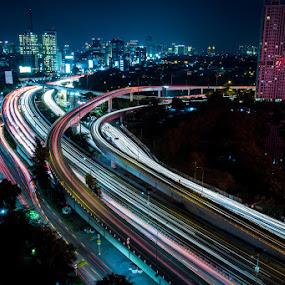west jakarta by Reza Roedjito - City,  Street & Park  Street Scenes