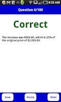 Screenshot of ASVAB (Arithmetic Reasoning) Q