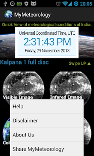 MyMeteorology screenshot for Android