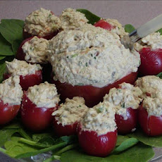 Tomatoes Stuffed With Chicken Chipotle Salad